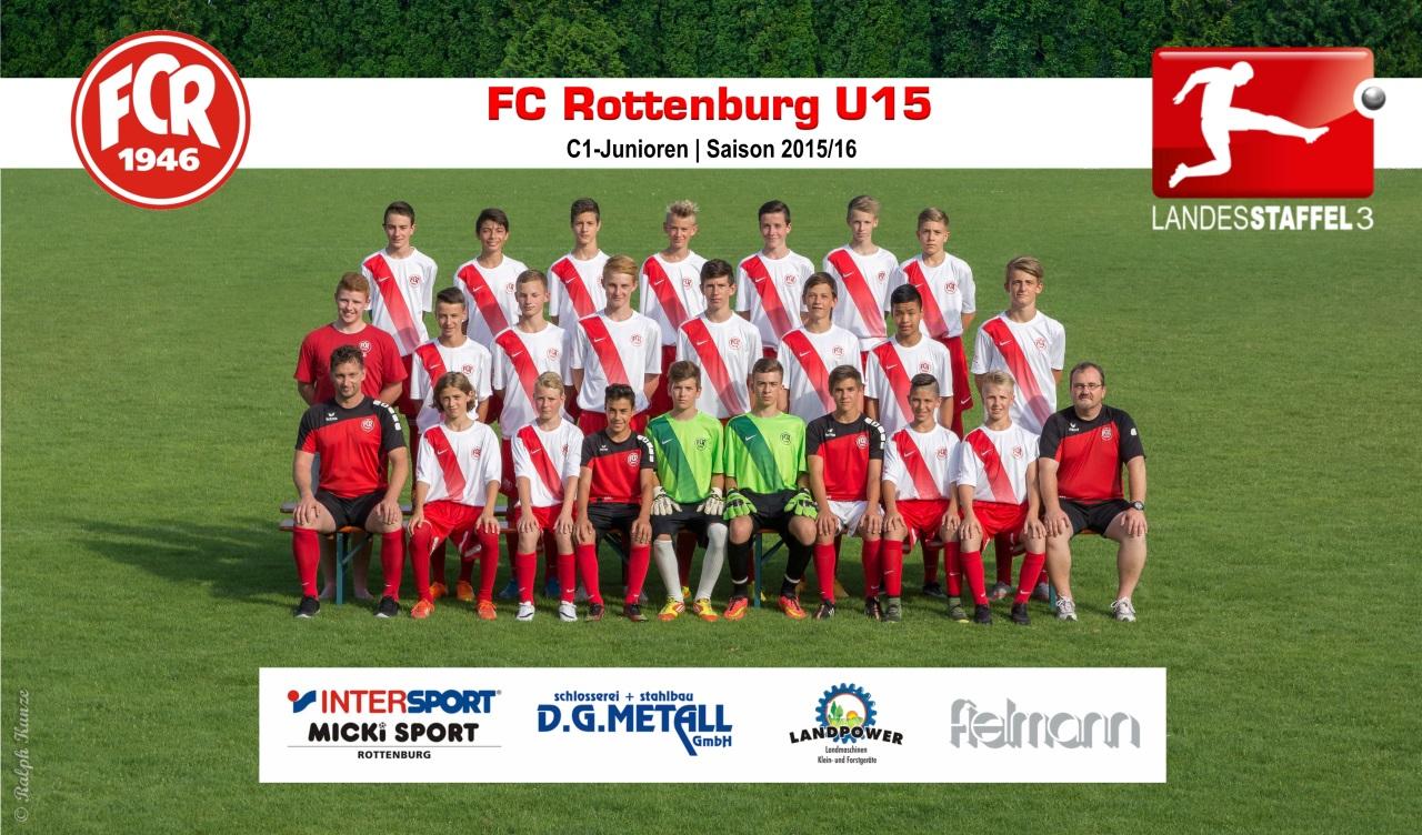 FC Rottenburg U15 - Saison 2015-16