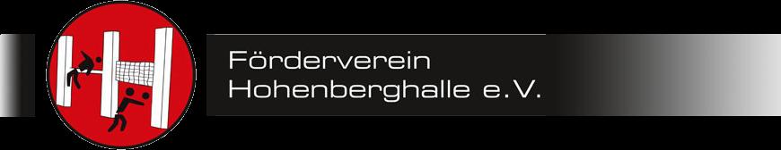 Förderverein Hohenberghalle e.V.