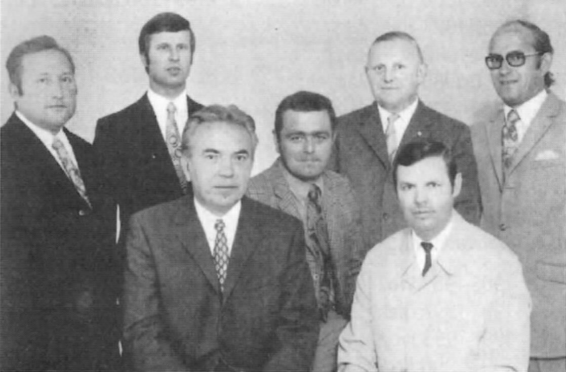 Vorstand 1971