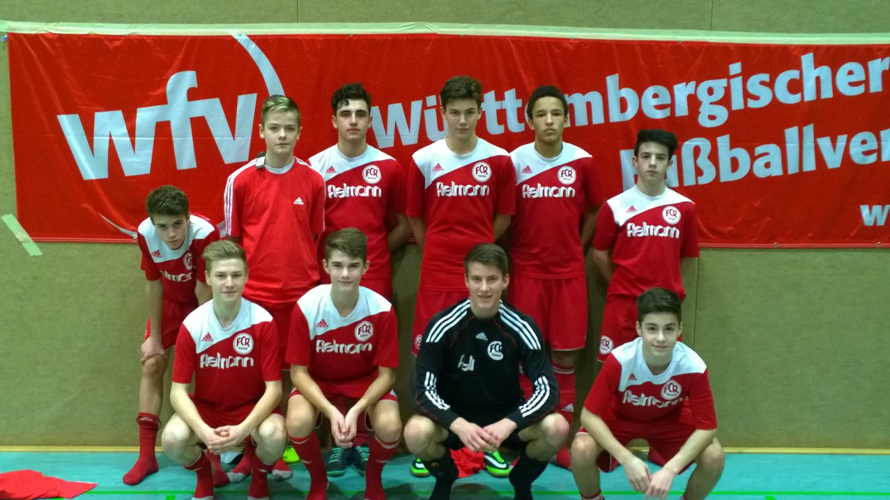 Württembergischer Vizemeister im Futsal- C-Junioren des FCR