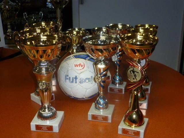 Pokale Futsal Masters 2013/2014