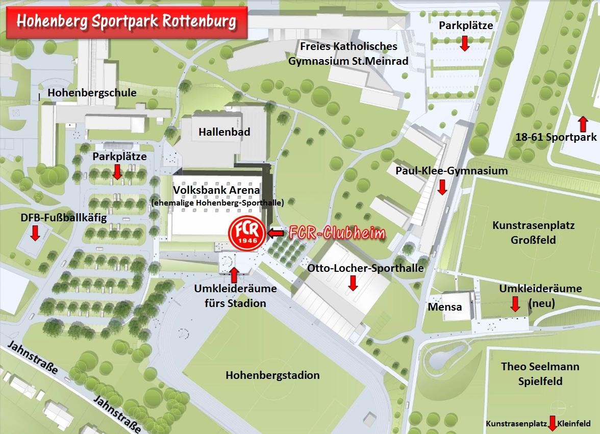 Hohenberg Sportpark mit Beschreibung