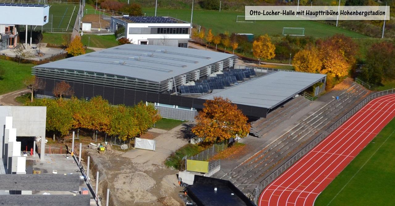 Otto-Locher-Halle 2013 mit Titel