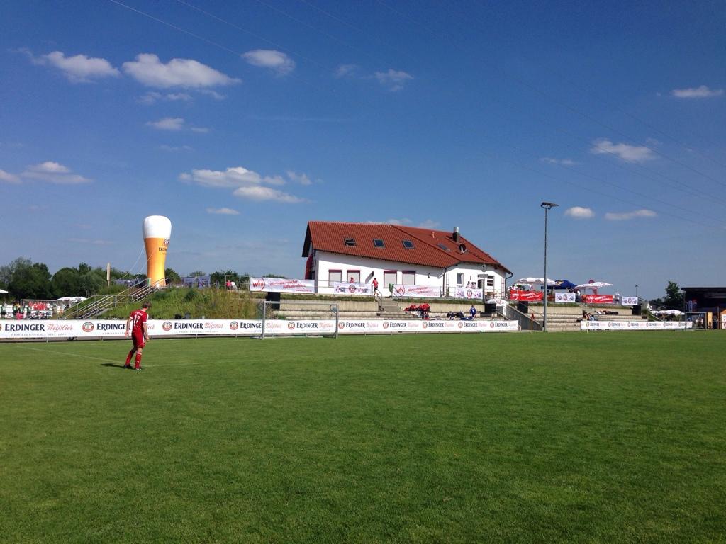 Landesfinale in Bellenberg Sportplatz