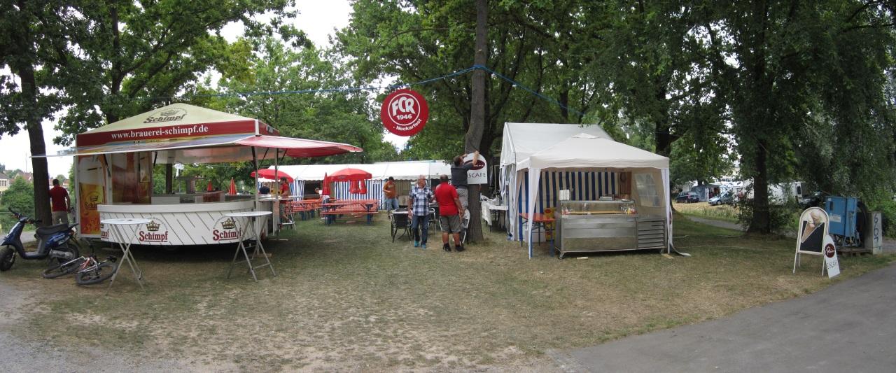 Neckarfest 2014 - 5 Std vor Beginn