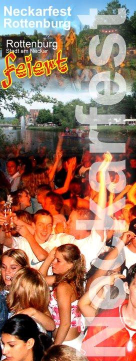 Neckarfest Plakat