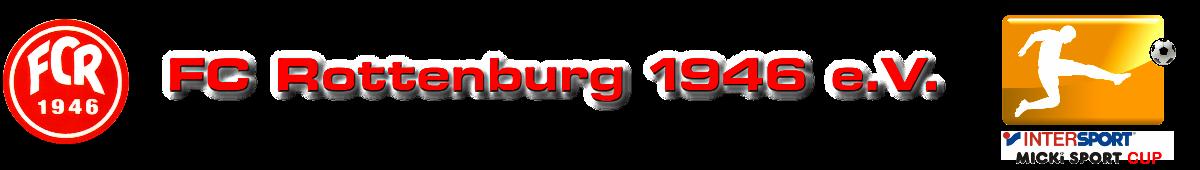 Kopfzeile FC Rottenburg mit Motto Micki Sport Cup_3
