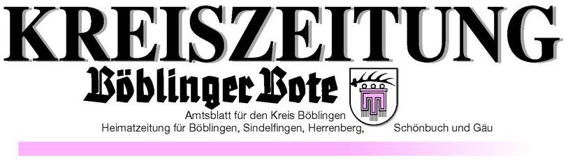 Kreiszeitung Böblinger Bote