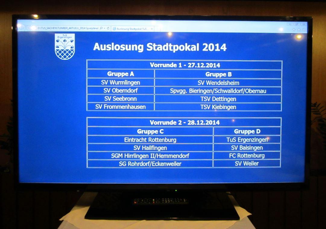 Auslosung Stadtpokal am 06.11.2014 in Ergenzingen_02