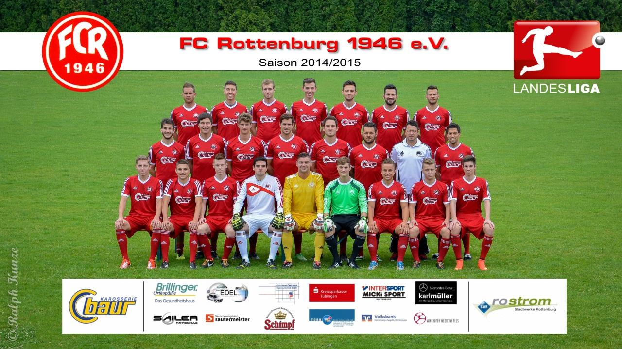FC Rottenburg Herren 1.Mannschaft - Saison 2014-2015