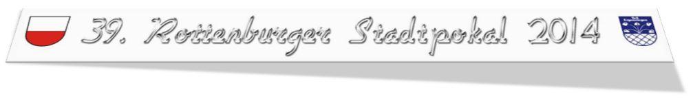 Stadtpokal 2014 Logo