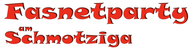 Fasnetparty am Schmotziga Logo