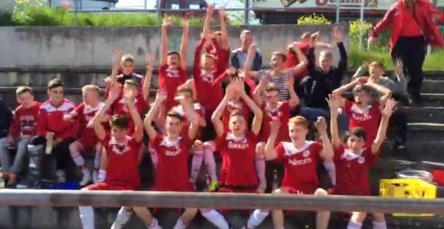 Meister der Landesstaffel 3- FC Rottenburg U15