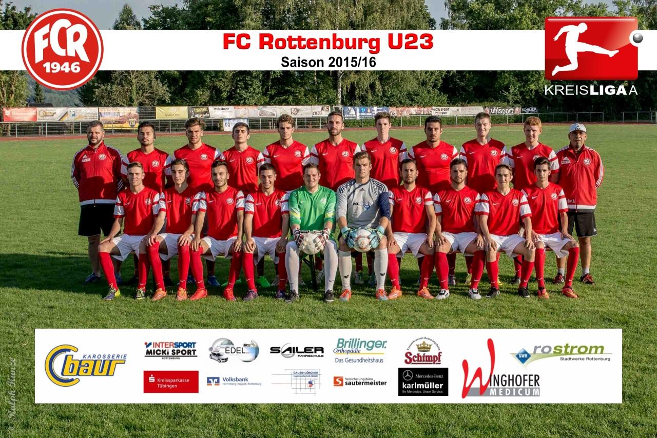 FC Rottenburg U23 - Saison 2015-16