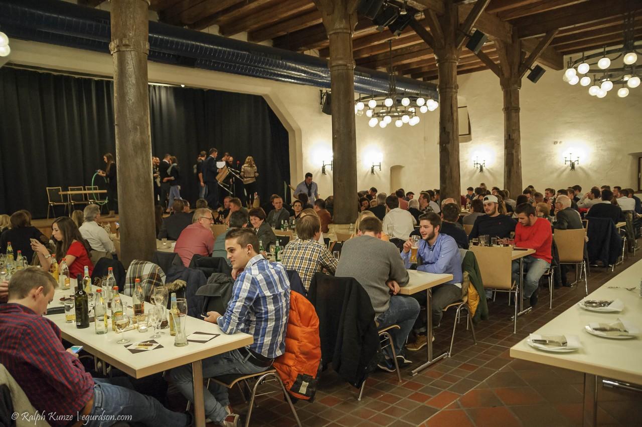 150 geladene Gäste Franz-Anton-Hoffmeister-Saal in der Zehntscheuer