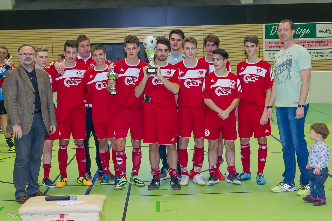 B1-Junioren - Stadtpokalsieger 2015