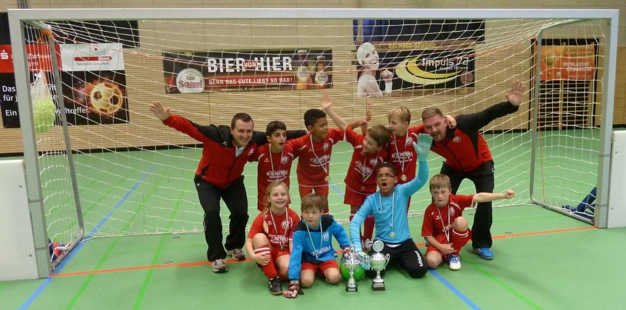 F2-Junioren - Stadtpokalsieger 2015