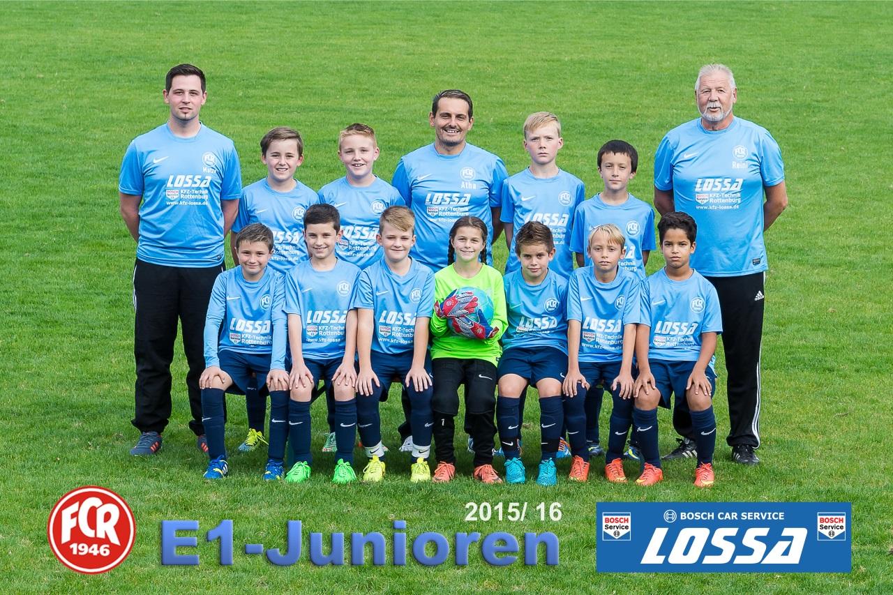 FC Rottenburg - E1-Junioren 2015-16