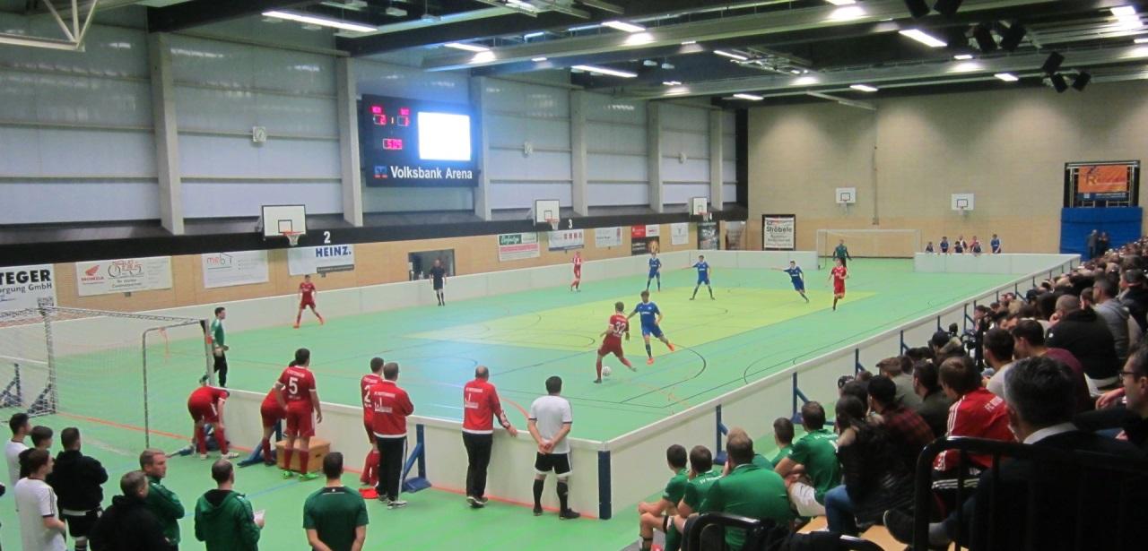 FC Rottenburg I gegen FC Rottenburg II 3:2