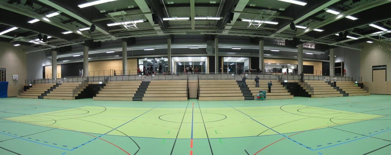 Volksbank Arena mit Tribünenansicht