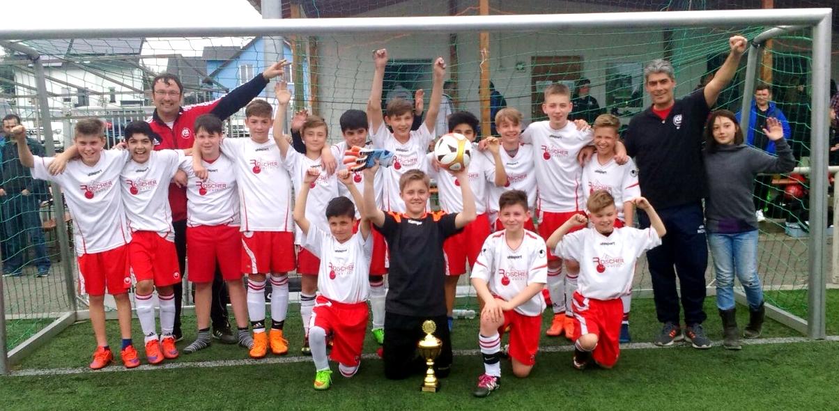 FCR U13 - Turniersieger beim U13-Cup in Ergenzingen