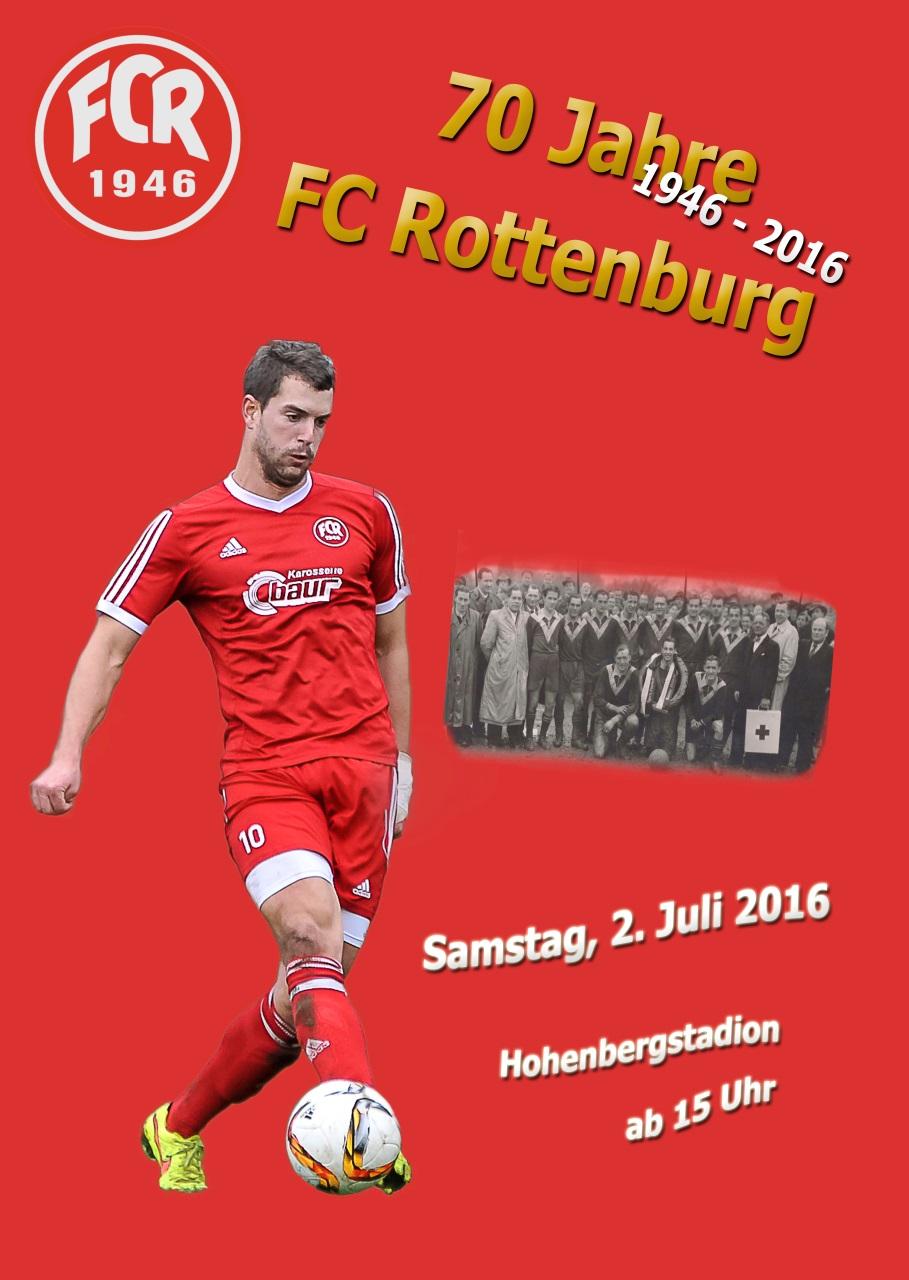 Flyer 70 Jahre FC Rottenburg_Titel
