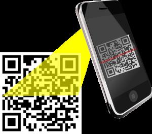 Handy Code scannen