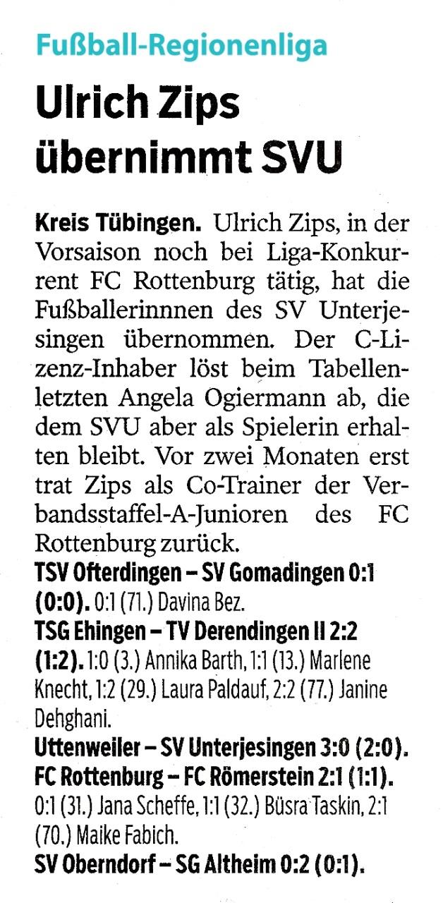 Blog – Seite 86 – FC Rottenburg 1946 e.V.