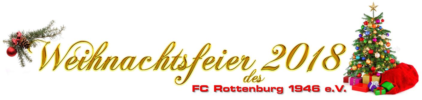Rede Weihnachtsfeier Fussballverein.Weihnachtsfeier Fc Rottenburg 1946 E V